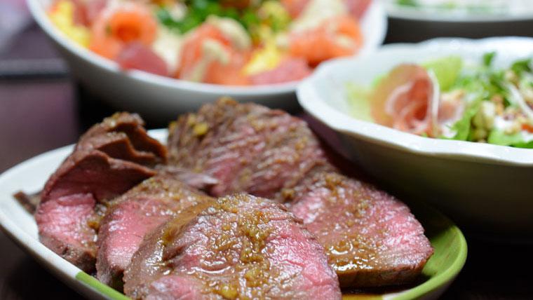 ローストビーフ ソレ ダメ 【ソレダメ!】かたまり肉で作るローストビーフのレシピを紹介!