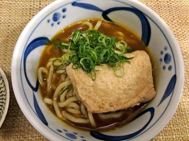 京都人の密かな愉しみ 冷やしカレーうどん