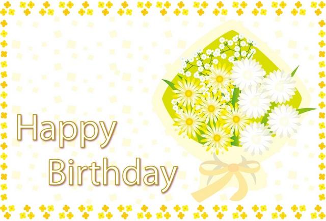 facebook 誕生日メッセージカードに使える無料素材
