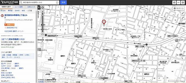 学校提出地図