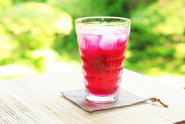 赤しそジュース レシピ