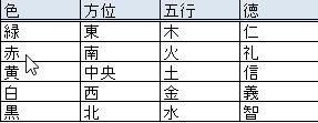 七夕 短冊の色