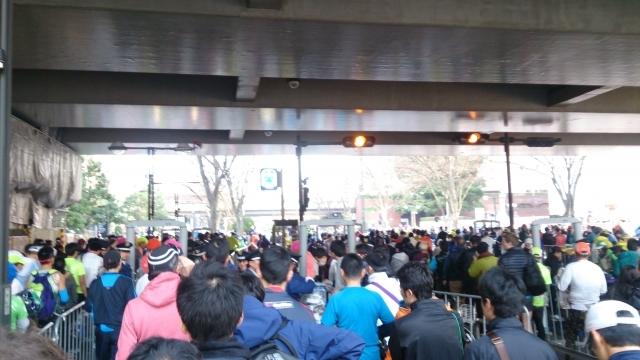東京マラソン 都庁前