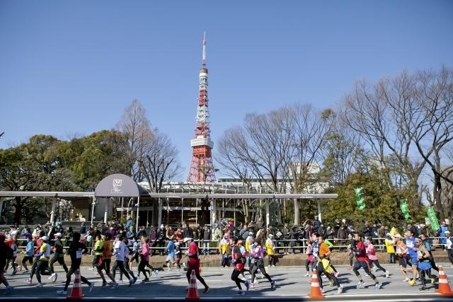 東京マラソン 芝